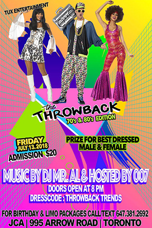 The Throwback 70s & 80s Event